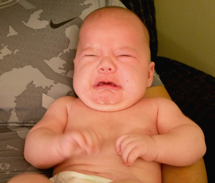crying baby newborn