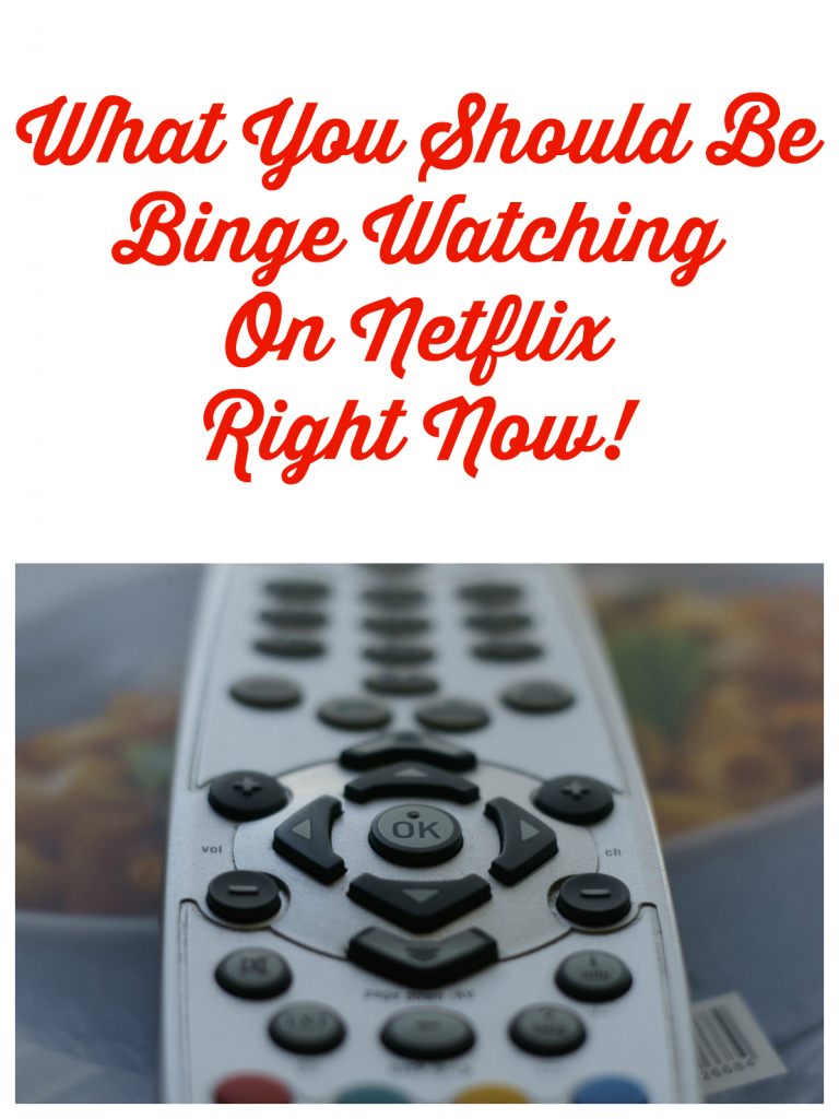 binge watching on netflix right now