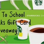 Survive Back To School with a Starbucks Card Giveaway!